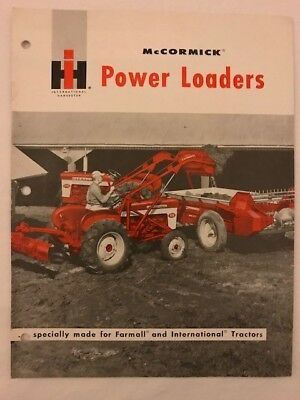 International Harvester McCormick Power Loader brochure