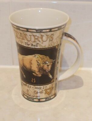 DUNOON STONEWARE LARGE MUG TAURUS the Bull EXCELLENT