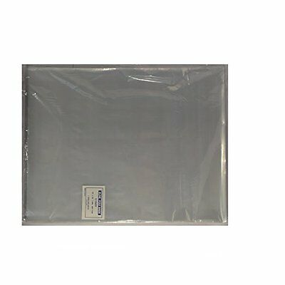 """Mail Bags 100 12 15"""" Poly Clear Plastic T-Shirt Apparel Mil 2"""" Back Flap Lock"""