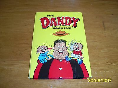 The Dandy Annual 1991 Vintage Comic Hardback Book
