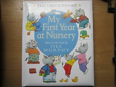 New My First Year at Nursery Record Journal Keepsake Book The Large Family Gift