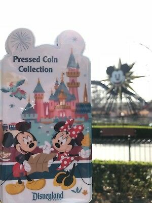 2018 Disney Parks Mickey & Friends Pressed Penny Coin Collection Book wallet
