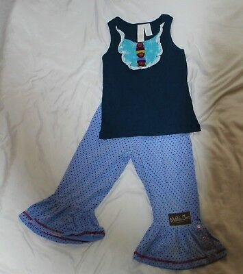 Matilda Jane little girls outfit, size 6