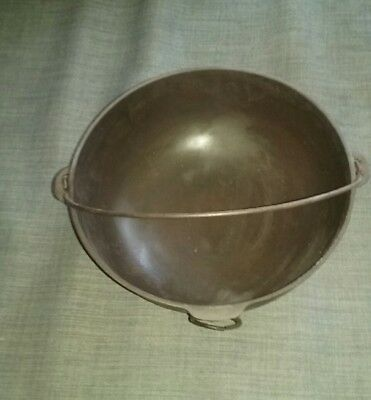 Vintage Antique Wagner Cast Iron #3 Kettle Pot Pan w/ Handle & Ring