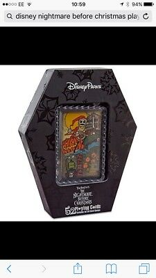 Disneys The Nightmare Before Christmas Playing Cards