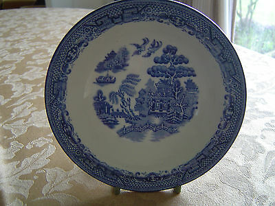 """Gibson and Sons  """"Willow"""" Pattern Dessert Dish"""