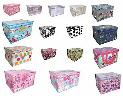 Large Childrens Clothes Laundry Bedding Storage Box Kids Toy Tidy Bedroom Chest