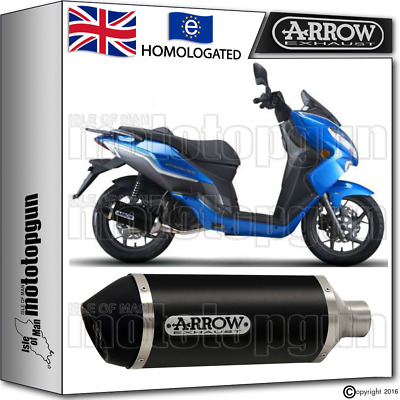 Arrow Silencer Urban Aluminium Dark Hom Keeway City-Blade 125 2015 15