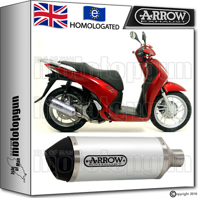 Arrow Silencer Urban Aluminium Hom Honda Sh 125 Abs 2015 15 2016 16