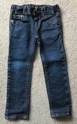 Boys Slim Fit Indigo Jeans Autograph M&S Age 2-3 Years