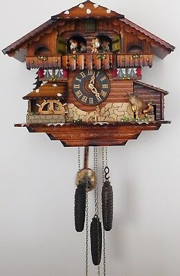 D.Hones German 1 Day Musical Cuckoo Clock  R. Rodgers Romance Swiss Music Box