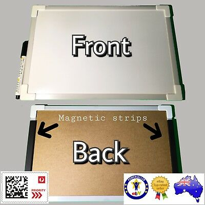 Magnetic Whiteboard with Marker - Nice Size - 20cm x 30cm FAST & FREE DELIVERY!