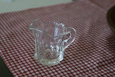 Small Creamer Glass Pitcher, FREE SHIPPING!!!