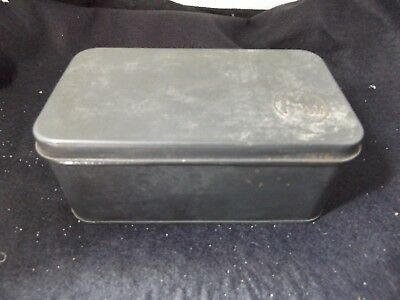 Old Camel Cigarettes Tobacco Tin Box Case Vintage Antique Metal Collectible