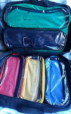 First aid kit bag Reliance Paris bag 5 detachable see through inner pouches