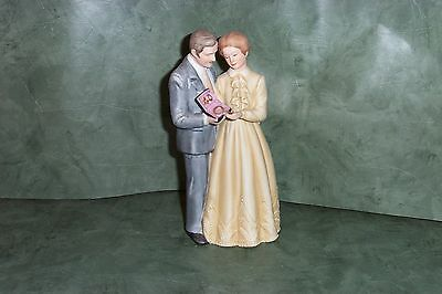 1983 Enesco Forty Years Together 40th Anniversary Treasured Memories Figurine