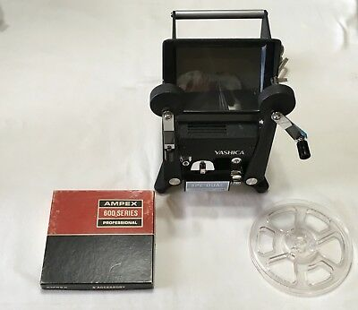 Yashica 8PE-DUAL Editor Dual Format Film Editor for 8mm & Super 8mm