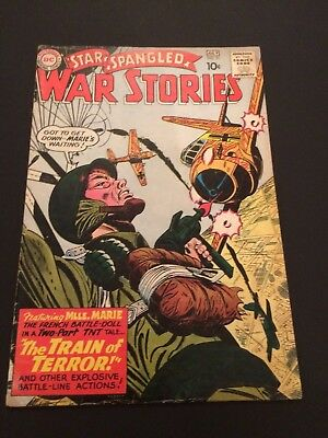 Star Spangled War Stories #91 early Mademoiselle Marie VG DC Silver Age