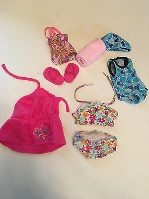 American Girl Doll Bathing Suit w/ Cover Up collection