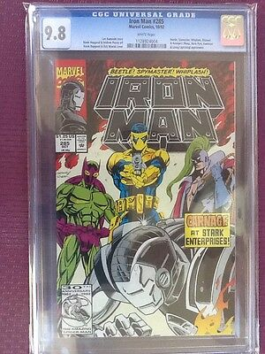 Ironman 285, cgc 9.8 white pages!