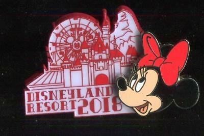 DLR 2018 Dated Collection Minnie Mouse Disney Pin 125870