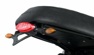 Support de plaque R&G Bonneville / Scrambler (06-16), Thruxton (04-16)