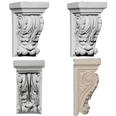New Decorative Carved Corbel Shelf Mantle Bracket Fireplace Dining Small Antique