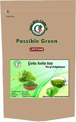 Gotu Kola Tea,Herbal Supplement For Healthy Brain,Body Detox,20 Teabags