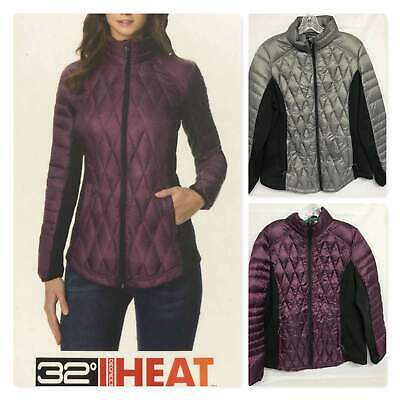 32 Degrees Women's Mixed Media Down Jacket