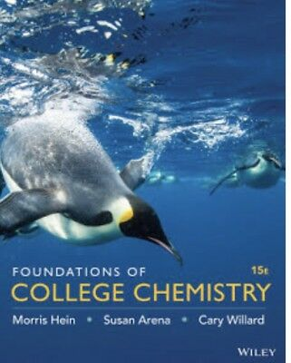 Foundations of College Chemistry 15th ed, Binder Ready Version (Binder-included)