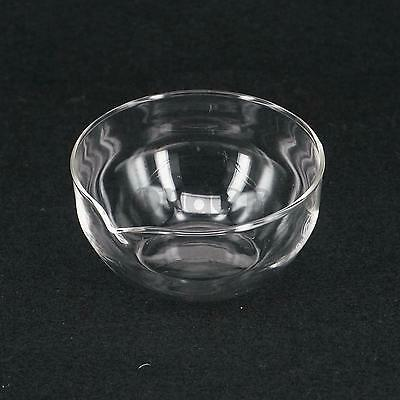 90mm Diameter Glass Evaporating dish plat bottom with spout For Laboratory