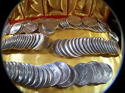 Five Original Rolls ( 100 Coins ) 1922 To 1925 Peace Dollars.