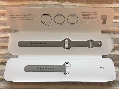 Genuine Apple Watch Sport Band -38mm, Concrete, Stainless Steel Pin