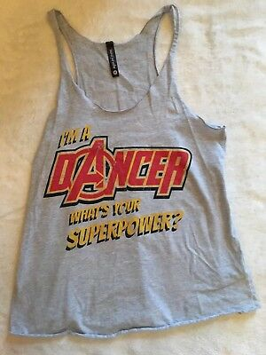 Sugar and Bruno, Youth One Size Tank Top, Dance, EUC!