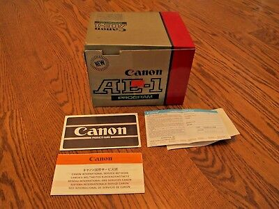 Canon AE-1 Body Empty Boxes Only With Foam Inserts and Warranty Booklets