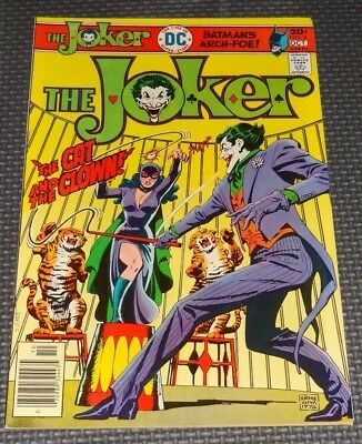 THE JOKER #9 (1975) Catwoman Cover and Story