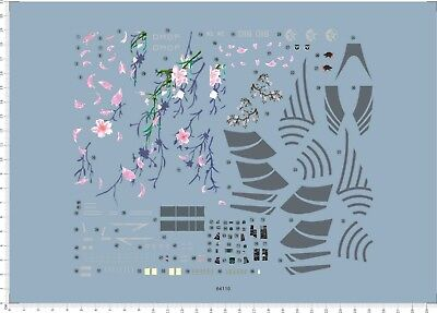 1/72 decals for F-14D TOMCAT ACE COMBAT BLOSSOM (64110)