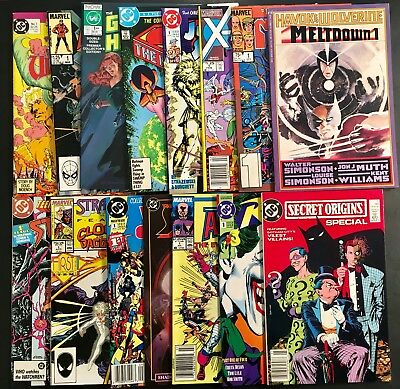 Copper Age #1 Issues Comic Books Lot of 15 Marvel DC & More Great Mix High Grade