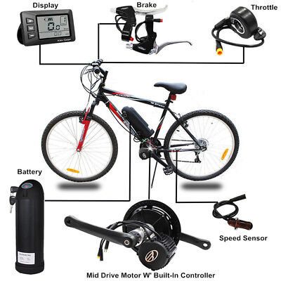 mid/Center drive/ position Motor electric bicycles trike motor conversion kit