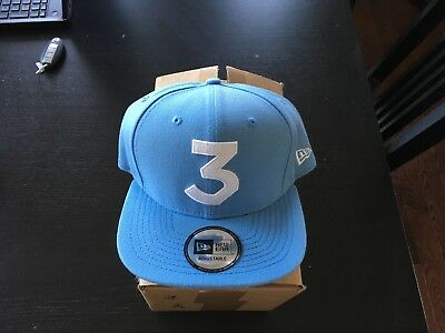 Official Chance the Rapper x New Era  3  Hat Snapback Exclusive -