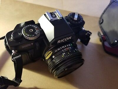 VINTAGE RICOH XR7 35MM SLR FILM CAMERA Mint Condition In Box Never Used