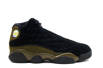 f277cae6a6b8 Air Jordan Retro 13 Xiii Preschool Olive Ship Now 414575-006 Ps Boys Girls  Suede