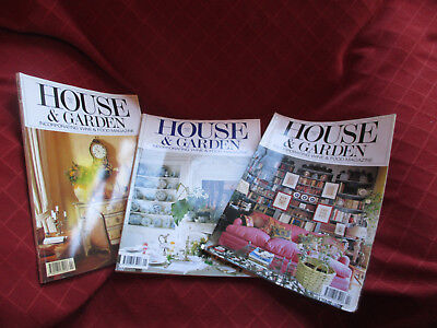 Vintage House and Garden magazine january february March 1990