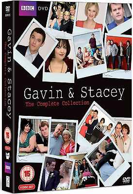 Gavin And Stacey Series 1 - 3 And Plus 2008 Christmas Special UK Pal DVD Box Set
