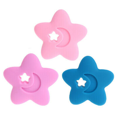 BPA Free Baby Silicone Star Teethers DIY Nursing Necklace Chewable Pendants