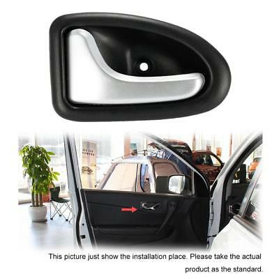 Car Left Interior Internal Door Handle Chrome For Renault Clio Megane I9V1