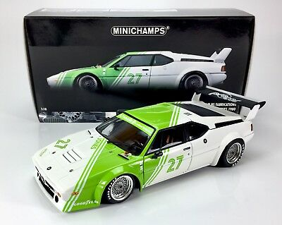 BMW M1 Procar Team BS Jones Minichamps 1:18 Limited 306 pcs.
