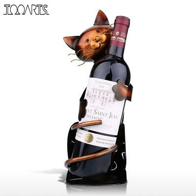 Wine Rack Holder Shelf Bottle Bar Home Storage Decor Glass Hanging Hanger Craft