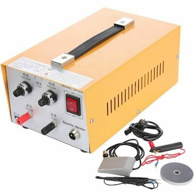 30A 2in1 Pulse Sparkle Spot Welder Jewelry Welding Machine Gold Platinum 110V
