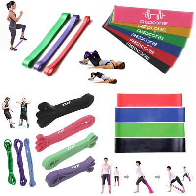 Strength Resistance Elastic Band Rubber Band Pull Up Training Exercise Yoga Gym